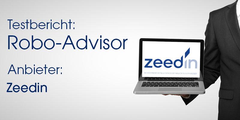 Zeedin Robo-Advisor Test